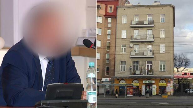 Marek M. oskarżony w sprawie kamienicy przy Targowej tvnwarszawa.pl / TVN24