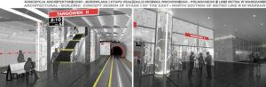 Są pierwsze pozwolenia na rozbudowę II linii metra