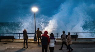 Burza Justine w Hiszpanii