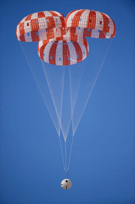Test zabezpieczeń statku kosmicznego Orion