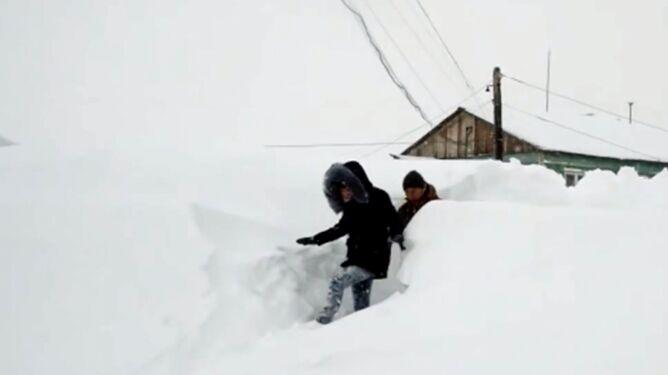 Takiego śniegu w Rosji nie było od 30 lat
