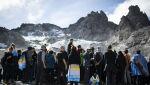 Szwajcarzy pożegnali lodowiec Pizol