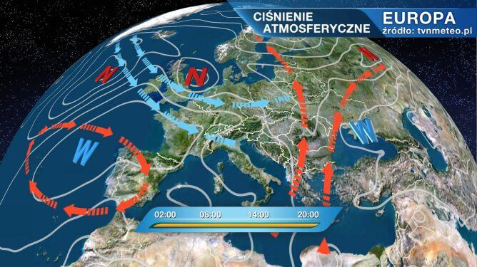 Do Polski napłynie chłodne i wilgotne powietrze