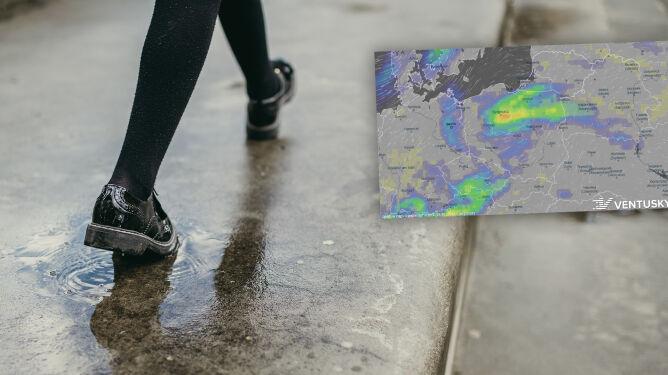 Pogoda na 5 dni: trochę deszczu, możliwy silniejszy wiatr