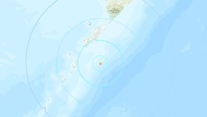 Trzęsienie ziemi na Kurylach. Miało magnitudę 6,0
