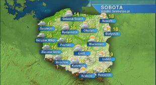 Pogoda na sobotę 23.05