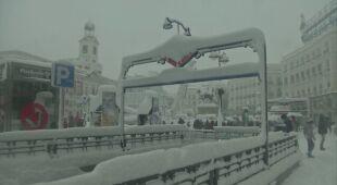 Madryt w śniegu